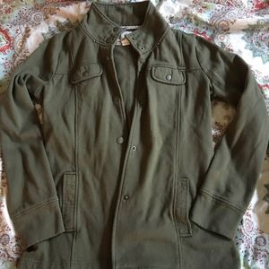 Anthropologie Green army jacket